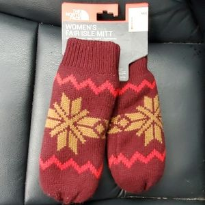 NWT The North Face Mittens